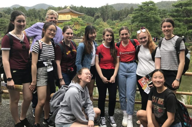 Carey Students Visit Japan