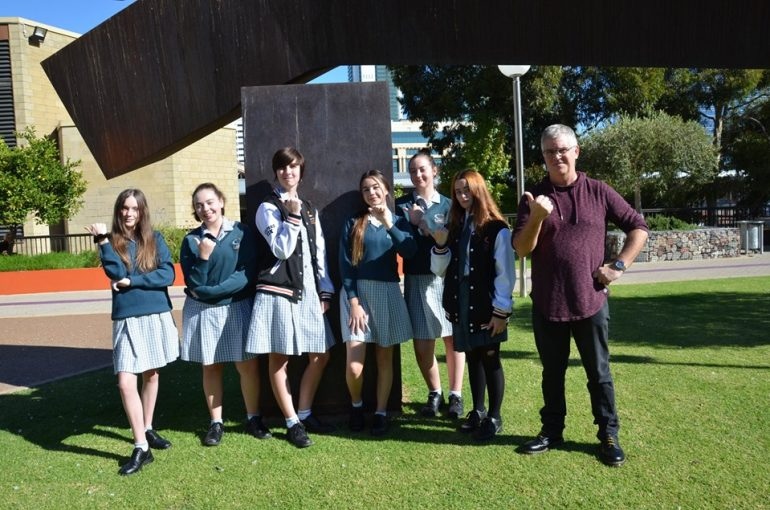 Visual Art students visit the Western Australia Art Gallery