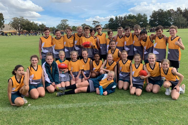 1st and 2nd Place at the WACSSA Interschool AFL Carnival