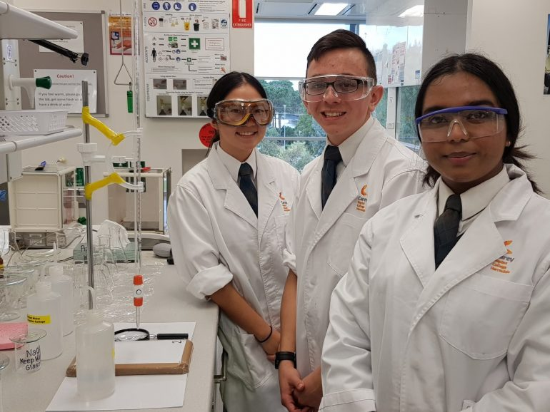 Teams qualify for National Chemistry competition