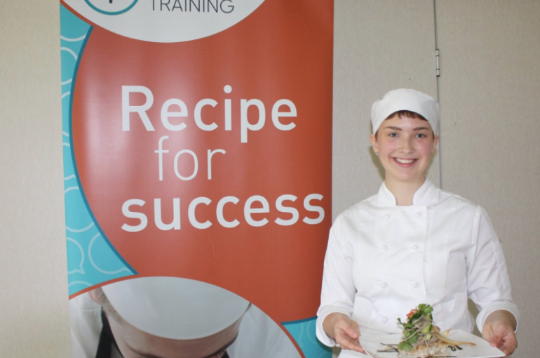 Jasmine finalist in Cooking Competition