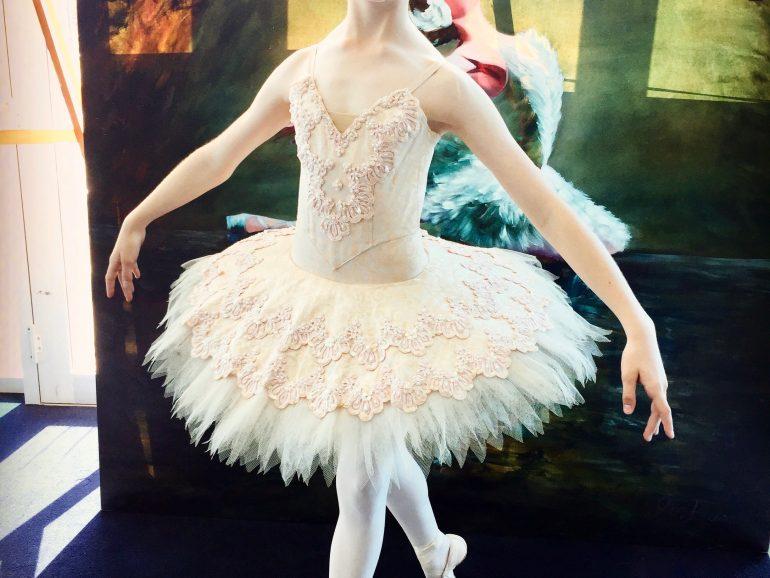 Grace accepted into Australian Ballet School