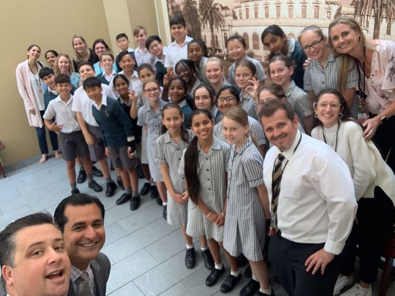 Year 6 visit State Parliament House
