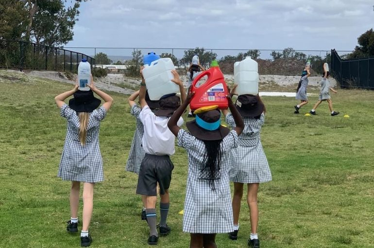 Year 3 Water Walk Fundraiser