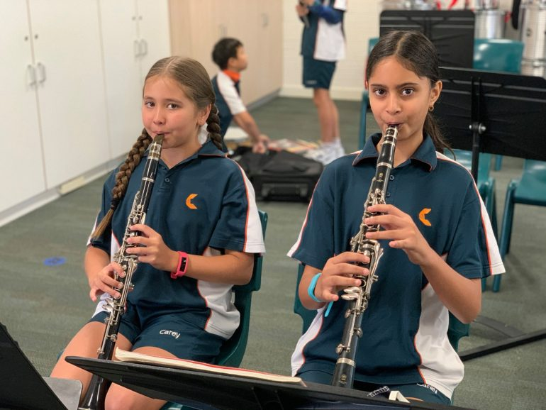 Year 5 Concert Band Rehearsals