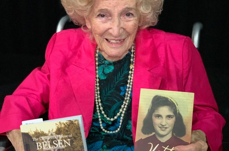 Year 10s and 11s meet incredible Holocaust Survivor