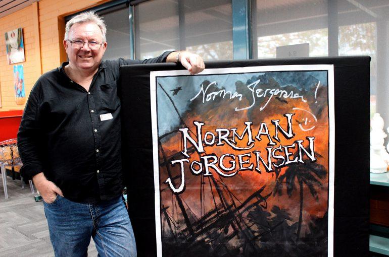 Harrisdale Visited By Australian Author Norman Jorgensen