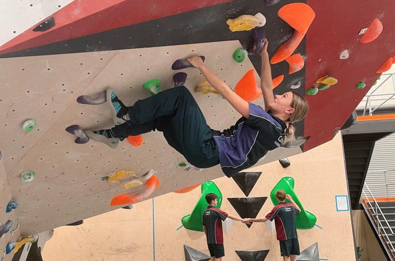 Year 10 Rock Climbing