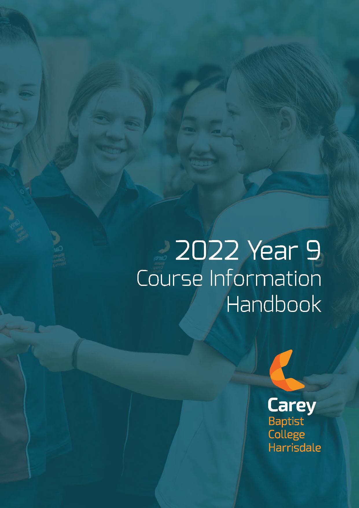 WEB-Course-Information-Handbook-Yr9-2022