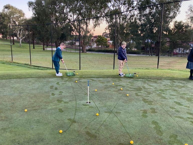 New Golf Program