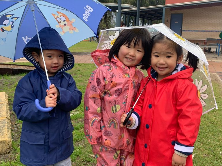 Rain Day for Kindy!
